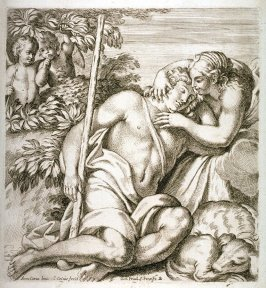 Diana Embracing Endymion, pl. II from the series The Farnese Gallery