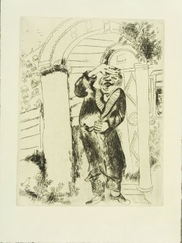 """Manilov,"" plate VIII, in the book Les Âmes mortes (Dead Souls) by Nicolas Gogol (Paris: Tériade Éditeur, 1948), vol. 1 of 2"