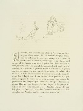 Untitled headpiece on pg. 221 , in the book Les Âmes mortes (Dead Souls) by Nicolas Gogol (Paris: Tériade Éditeur, 1948), vol. 2 of 2