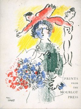 Prints from the Mourlot Press (exhibition catalogue 1964-1965) with cover by Marc Chagall