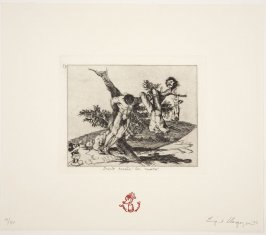 Grande hazana con muertos! from Homage to Goya II: Disasters of War