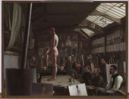 Bouguereau's Atelier at the Académie Julian, Paris