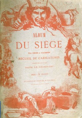 Album cover in the book, Album du Siége
