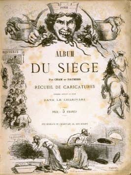Title page in the book, Album du Siége