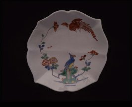 Saucer (Ho-ho bird pattern)