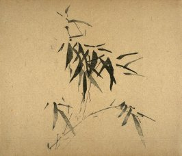 Bamboo, centered, No.17 from Volume I(1+2) on Miscellaneous Subjects - from: The Treatise on Calligraphy and Painting of the Ten Bamboo Studio