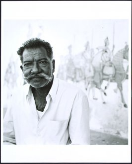 Man and Horses, Ronet, Rajastan, India