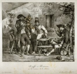 Krafft et Braunn…, 4th plate in the book, [Title from front cover]: Croquis lithographiques (Paris: Gihaut, 1824)