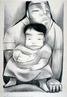 Mother with Child in Front