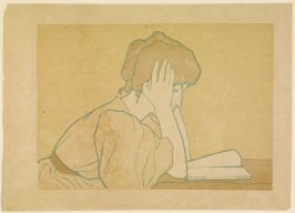 Liseuse (Woman Reading), published in The Studio