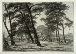 Hampstead Heath, plate 4 in the book, The Etcher (London: Williams and Norgate, 1879), vol. 1
