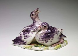 Covered Tureen in the form of Two Pigeons