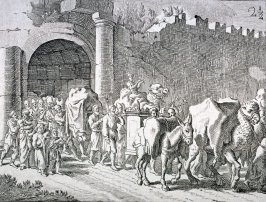 [Procession from the fort]