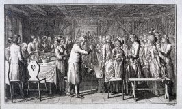 A banquet attended by many people