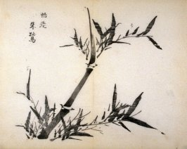 """""""Making the Old Happy""""- No.9 from the Volume on Bamboo - from: The Treatise on Calligraphy and Painting of the Ten Bamboo Studio"""