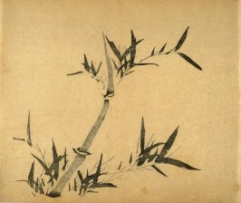 """Making the Old Happy""- No.9 from the Volume on Bamboo - from: The Treatise on Calligraphy and Painting of the Ten Bamboo Studio"