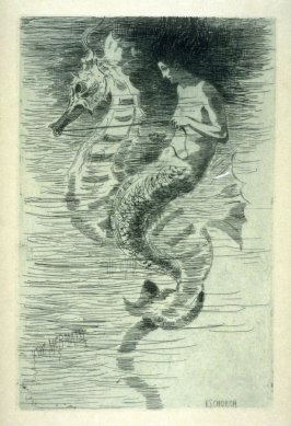 The Mermaid, plate 6 in the book, Choice Etchings (London: Alexander Strahan, 1887)