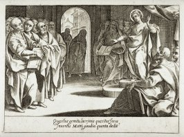 The Young Christ Disputing in the Temple, from the series Mysteries of the Rosary