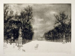 Les Tuileries sous la Neige (The Tuileries in the Snow)