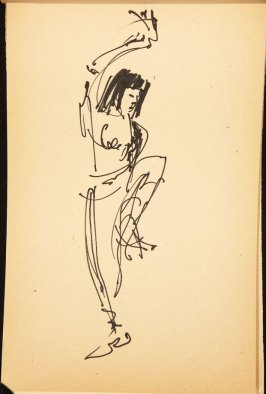 Illustration 8 in the book Out of a T'ai Chi Notebook: Observations of the spirit in words and drawings (sketchbook)