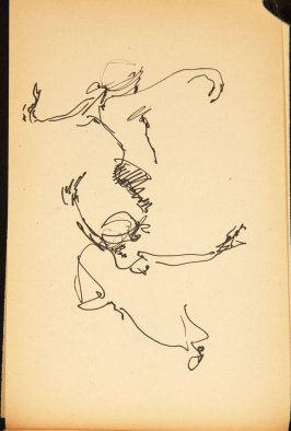 Illustration 9 in the book Out of a T'ai Chi Notebook: Observations of the spirit in words and drawings (sketchbook)