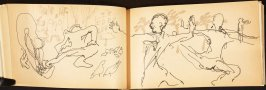 Illustration 12 in the book Out of a T'ai Chi Notebook: Observations of the spirit in words and drawings (sketchbook)
