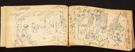 Illustration 19 in the book Out of a T'ai Chi Notebook: Observations of the spirit in words and drawings (sketchbook)
