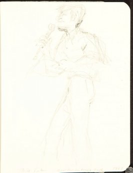 Illustration 2 in the book Sketchbook (MFK Fisher and Mary Anthony)