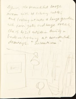 Illustration 4 (Interior) in the book Sketchbook (MFK Fisher and Mary Anthony)