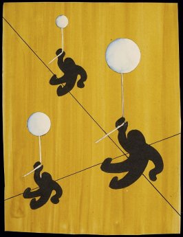 Untitled (Three Figures with Balloons)