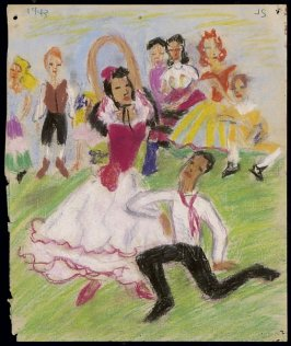 Untitled (Spanish Dancers)