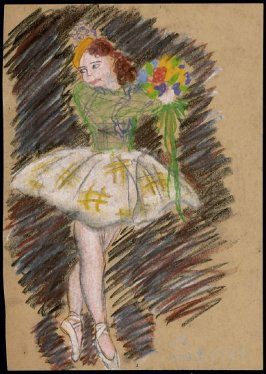 Untitled (Dancer with Bouquet)