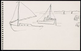 Untitled (Sailboats)