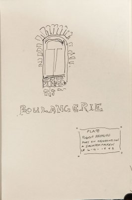 Illustration 24 in the book Sketchbook (Nantes and Dieppe)