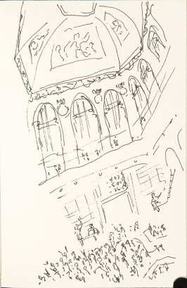 Illustration 36 in the book Sketchbook (Nantes and Dieppe)