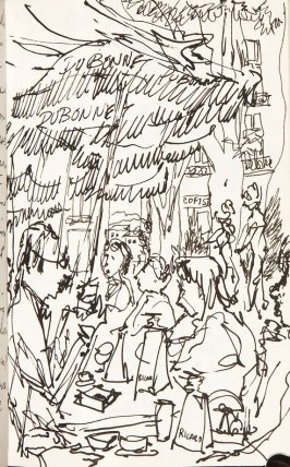 Illustration 13 in the book Sketchbook (Aix-en-Provence)