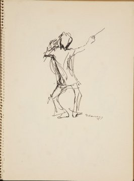 Untitled (Seiji Osawa), Illustration 1 in the book Sketchbook (San Francisco Symphony)