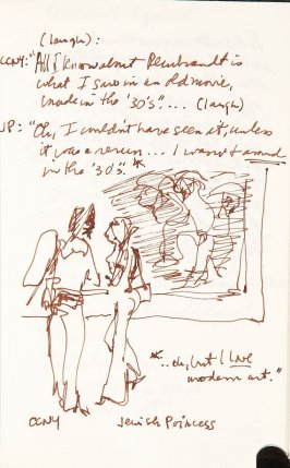 Illustration 55 in the book Sketchbook (Aix-en-Provence)