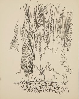 Illustration 3 in the book Sketchbook (Stern Grove)
