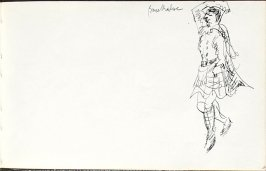 Bruce Maclure, Illustration 10 in the book Sketchbook (Mary Anthony, Brooklyn College)
