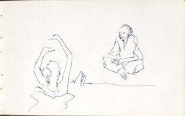 Untitled (Dancers), Illustration 13 in the book Sketchbook (Mary Anthony, Brooklyn College)