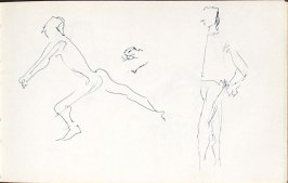 Untitled (Dancers), Illustration 14 in the book Sketchbook (Mary Anthony, Brooklyn College)