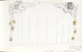 Untitled (Set design), Illustration 23 in the book Sketchbook (Mary Anthony, Brooklyn College)