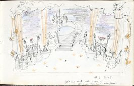 Untitled (Set design), Illustration 24 in the book Sketchbook (Mary Anthony, Brooklyn College)