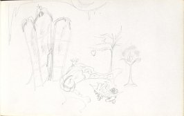 Untitled (Set design), Illustration 26 in the book Sketchbook (Mary Anthony, Brooklyn College)