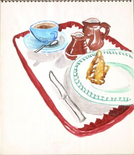 Untitled (Still Life), Illustration 6 in the book Sketchbook (Paris)