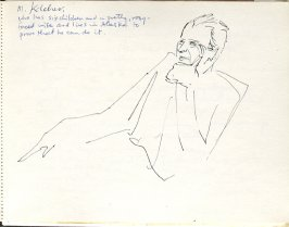 Untitled (SS Zuiderknuis), Illustration 2 in the book Sketchbook (Europe, Ballet)