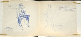 Sokolov and Züllig, Illustration 13 in the book Sketchbook (Europe, Ballet)