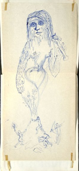 Untitled (Fantasy), Illustration 15 in the book Sketchbook (Europe, Ballet)