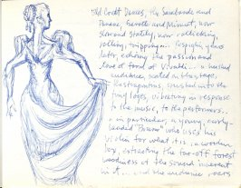Old Court Dances, Illustration 28 in the book Sketchbook (Europe, Ballet)